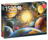Jumbo-legpuzzel-Floating-in-Outer-Space-1500-stukjes