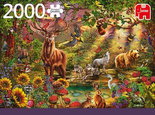 Jumbo-puzzel-magic-forest-at-sunset-2000-stukjes