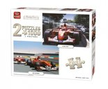 King-legpuzzel-Racing-Car-Collection-2-puzzels-1000-stukjes