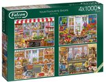 Falcon-Legpuzzel-Your-Favourite-Shops-4x1000-stukjes
