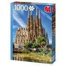 Jumbo-legpuzzel-Sagrada-Familia-View-Barcelona-1000-stukjes