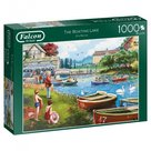 Jumbo-legpuzzel-Falcon-The-Boating-Lake-1000-stukjes