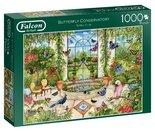 Jumbo-legpuzzel-Falcon-Butterfly-Conservatory-1000-stukjes
