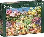Jumbo-legpuzzel-Falcon-Autumn-Garden-1000-stukjes