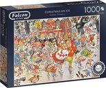 Jumbo-legpuzzel-Falcon-Christmas-On-Ice-1000-stukjes