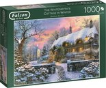 Jumbo-legpuzzel-Falcon-The-Whitesmith's-Cottage-1000-stukjes
