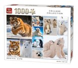 King-Legpuzzel-Collage-Arctic-Life-1000-Stukjes