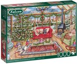 Falcon-legpuzzel-The-Christmas-Conservatory-1000-stukjes