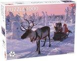 Tactic-legpuzzel-Santa-Claus-in-Sleigh-1000-stukjes