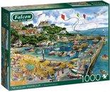 Falcon-legpuzzel-Newquay-Harbour-1000-stukjes