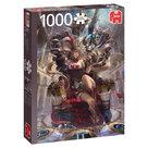 Jumbo-legpuzzel-Zodiak-Koningin-1000-stukjes