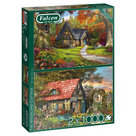 Falcon-legpuzzel-The-Woodland-Cottage-2x1000-stukjes