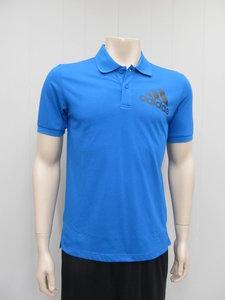 Adidas spelto polo blauw az6283