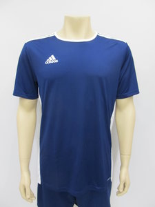 Adidas entrada 18 jersey navy wit cf1036