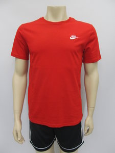 Nike sportswear t shirt rood 827021611