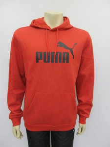 Puma ess hoody fl high risk red heather 85242211