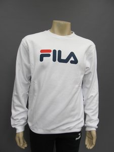 Fila classic pure crew sweater wit 681091m67