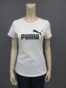Puma essentials tee dames wit 85178702