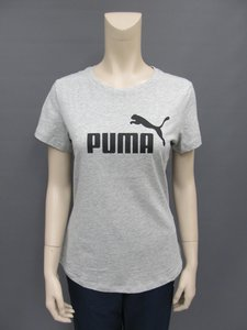 Puma essentials tee dames lichtgrijs 85178704