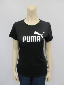 Puma essentials tee dames zwart 85178701