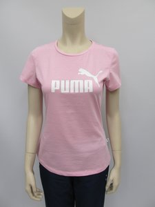 Puma essentials tee dames pink 85345521