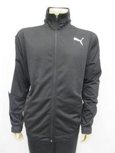 Puma classic tricot trainingsjack zwart 59484051