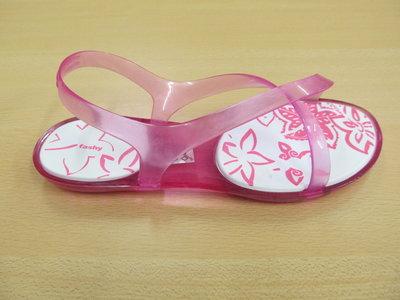 Fashy Menorca flat pink dames 7771003641
