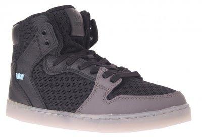 Supra Hoge Sneakers Vaider LX Heren Zwart / Grijs Maat 44.5