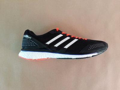 Adidas adizero adios boost 2 zwart wit rood af5680