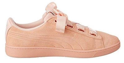 Puma vikky ribbon V2 suede dames roze 36972605