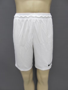 Nike park ll knit short junior wit zwart 725988100