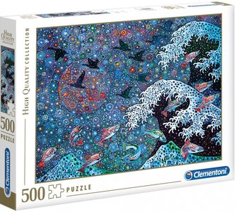 Clementoni legpuzzel Dancing with the Stars 500 stukjes