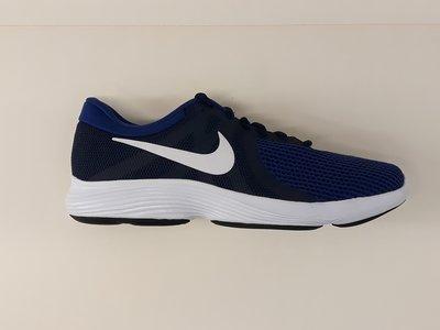 Nike revolution 4 blauw zwart wit AJ3490414