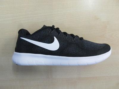 Nike free run dames zwart wit 880840001