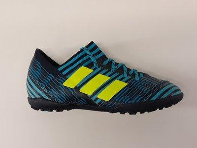 Adidas nemeziz tango 17 3 tf junior navy geel blauw BY2473