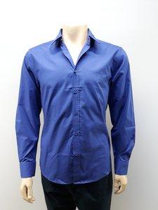 Pierre Cardin heren overhemd royal blauw GA203615MNPA