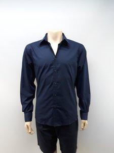 Pierre Cardin heren overhemd navy GA203615MNPA