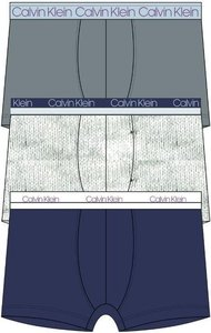 Calvin Klein boxershorts 3pack grijs blauw NB2336ACLG