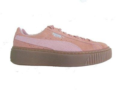 Puma suede platform roze 36510902