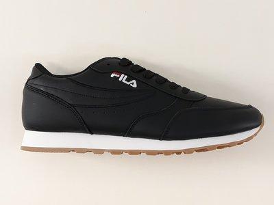 Fila orbit jogger low zwart 1010264016