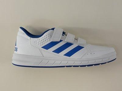 Adidas altasport cf kids wit blauw BA9525