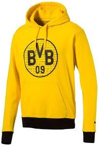 Puma BVB fan hoody junior geel zwart 75286511