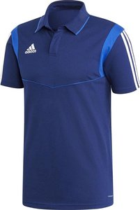 Adidas tiro 19 cotton polo heren navy DUO868