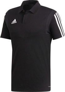 Adidas tiro 19 cotton polo heren zwart DUO867