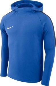Nike dry academy football hoody blauw navy AH9608463