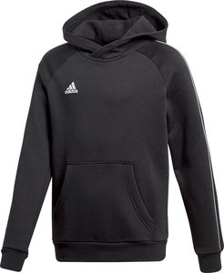 Adidas core 18 hoody y zwart wit CE9069