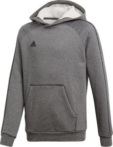 Adidas core 18 hoody y donkergrijs zwart CV3429
