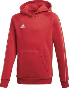 Adidas core 18 hoody y rood wit CV3431