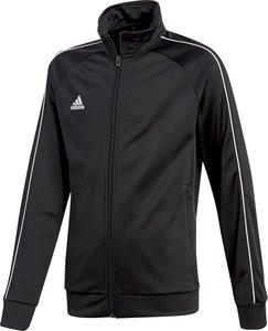 Adidas core 18 trainingsjas junior zwart CE9052