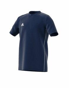 Adidas core 18 tee junior donkerblauw FS3248